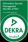 DEKRA Siegel ISO 27001_en