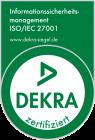 DEKRA Siegel ISO 27001_de